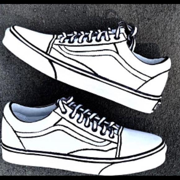 Vans Shoes Cartoon Custom Vans Poshmark
